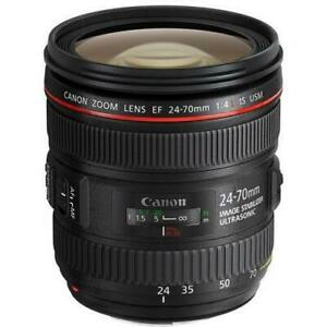 Store Sale - Canon EF 24-70mm f/4.0L IS USM Standard Zoom Lens Brand New In Box, Never Used.