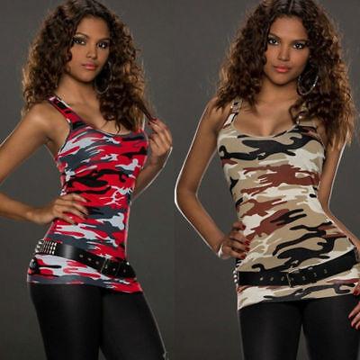 Sleeveless Top Women Fashion Summer Cotton T Shirt Blouse Vest Casual Tank Tops