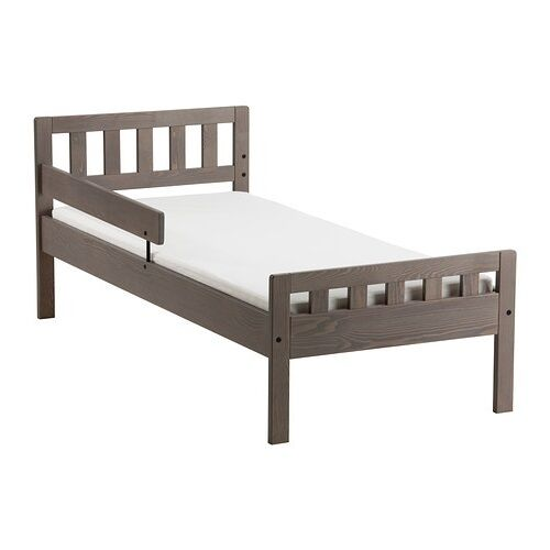 Ex-Display IKEA Mygga Solid Pine Toddler Bed, Brand New ...