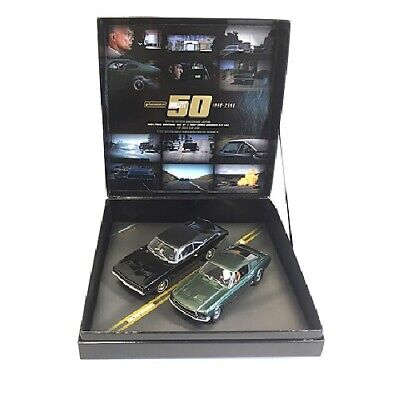 - Pioneer Bullitt Ford Mustang & Dodge Charger Limited Ed. Set 1/32 Slot Cars P050