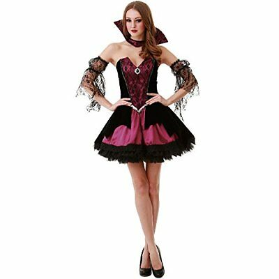 Voluptuous Vampire Women's Halloween Costume Victorian Gothic Countess Dracula (Dracula Costumes For Women)