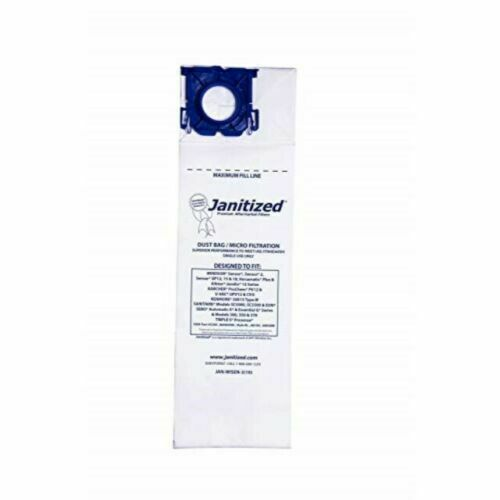Janitized JAN-WISEN-3(10) Premium Replacement Commercial Vacuum Paper Bags
