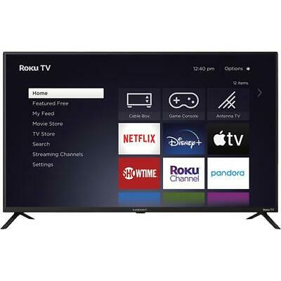 "Element TV E4AA55R-G 55"" Class LED 4K UHD Roku Smart TV"