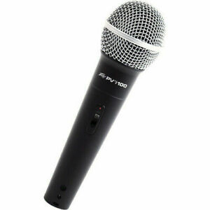 2 Brand New Peavey Pvi 100 Dynamic Vocal Cardiod Microphones