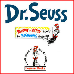 DR. SEUSS THE CAT IN THE HAT BRIGHT AND EARLY READERS