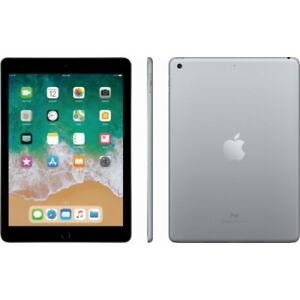 32 GB Space Grey iPad Wi-Fi Only (5th Gen)
