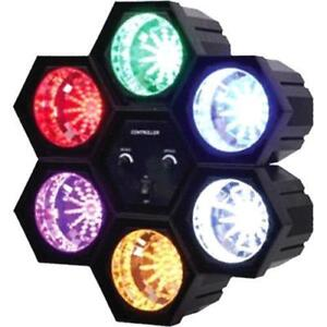 DJ SOUND ACTIVATED EFFECT DANCE PARTY LIGHT LED