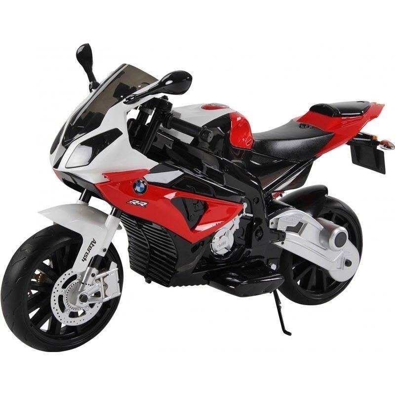 Motocicletta moto elettrica per bambini BMW elettrica 12 V Con sedile in pelle