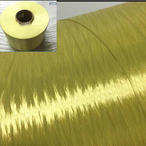 1500D K29 Aramid Fiber tow filament Yarn thread tape Yellow 100m