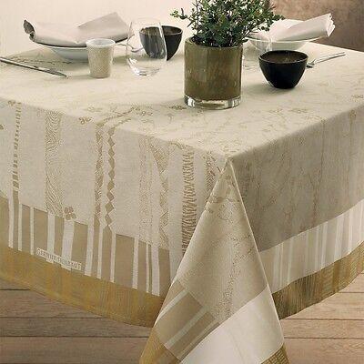 Скатерть Garnier-Thiebaut Grafitree Racine Collection Tablecloth