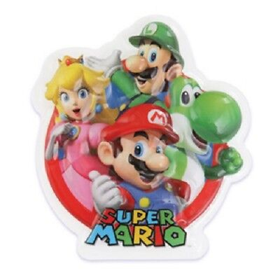 SUPER MARIO BROTHERS LUIGI PRINCESS CAKE POP TOP NINTENDO PARTY FAVORS BIRTHDAY - Super Mario Brothers Cake