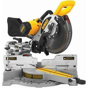 NEW DEWALT DW717 10-Inch Double-Bevel Sliding Compound Miter-Saw