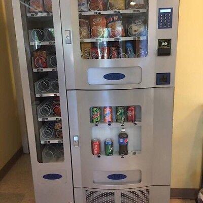Vending Machine Seaga Combo Soda Snack Candy Pop Office Deli Food Truck
