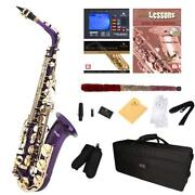 Purple Alto Saxophone