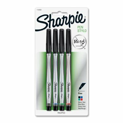 Sharpie Permanent Marker - Fine Marker Point Type - Assorted Ink San1742662