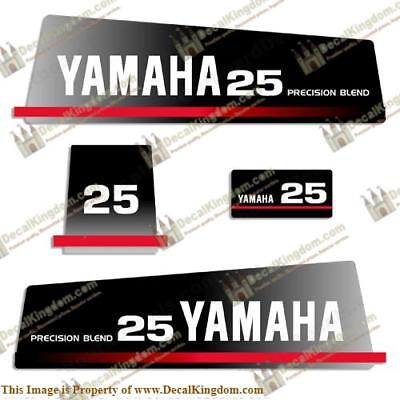 Yamaha 1993 25hp Decal Kit for sale  Shipping to India