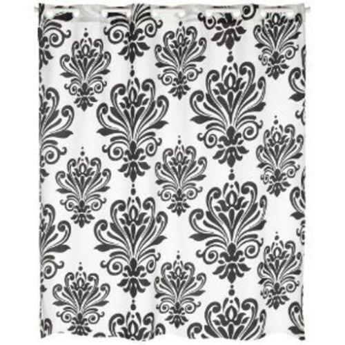 Curtains Ideas black and khaki curtains : Black Shower Curtain | eBay