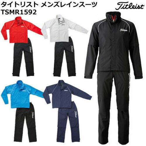 Titleist Golf Stratch Rain Wear Jacket & Pants TSMR1592 5 colors