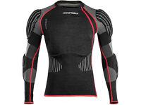 New L/XL Acerbis X-FIT Body Armour Motocross BMX Downhill Neck Brace Compatible