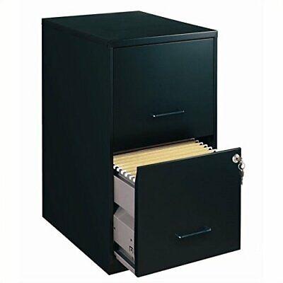 S.p. Richards Company Llr14341 18 Deep 2-drawer File Cabinet Black