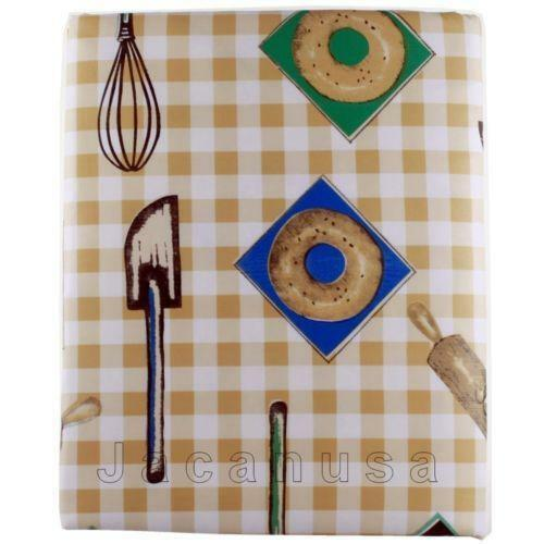 Round Vinyl Tablecloth Ebay