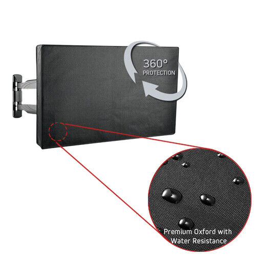 """Premium Outdoor Weatherproof Water Resistant LED TV Cover Protector for 30-32"""""""
