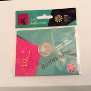 Olympic 50p Badminton