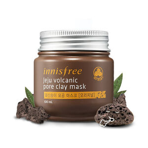[Innisfree] Jeju Volcanic Pore Clay Mask ORIGINAL 100ml sebum control