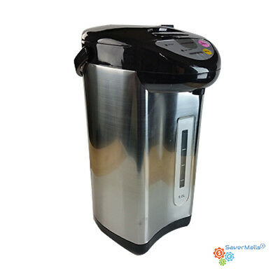 Ovente 3.2L Insulated Water Dispenser with Boiler and Keep Warm Steel (WA32S)