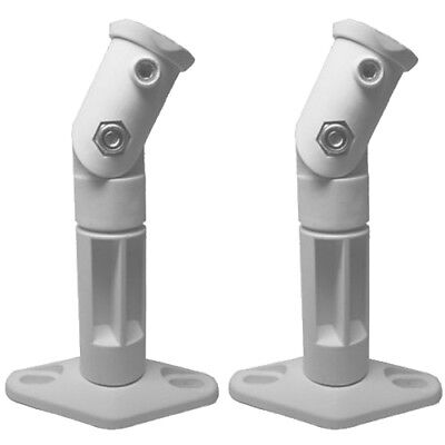 White - 2 Pack Lot - Universal Wall or Ceiling Speaker Mount