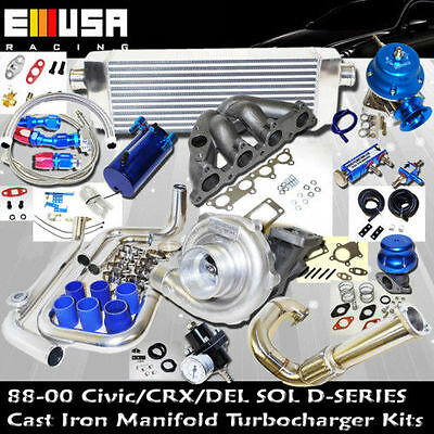 Turbo Kits D Series for D15Z1 D16Z6 D16Y7 D16Y5