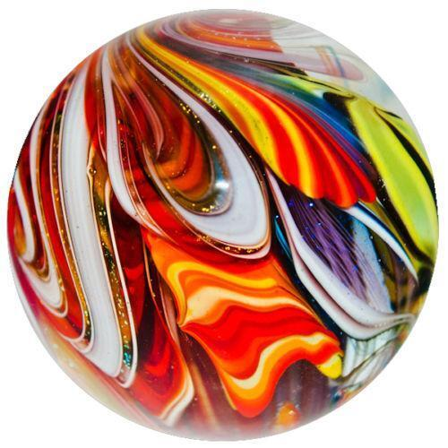 Clear Colored Marbles : Colored glass marbles ebay