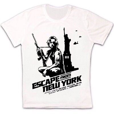 Escape From New York 80s Action Movie Retro Vintage Hipster Unisex T Shirt 991