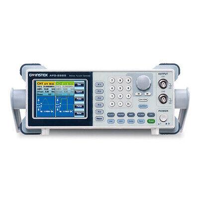 Instek Afg-2225 True Dual Channel Arbitrary Function Generator 25mhz