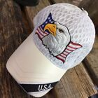 Men's Leather American Flag Hats