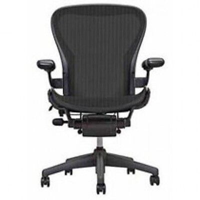 Herman Miller Aeron Mesh Office Desk Chair Medium Size B Basic