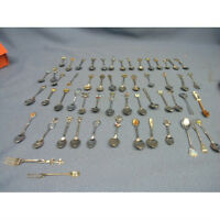 Lot of 48 Canadian Collection Spoons & 4 Forks