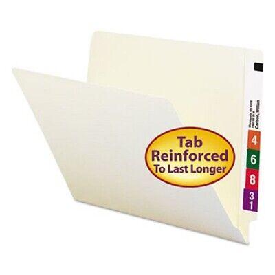 Smead Straight Cut Reinforced End Tab Letter Folders Manila 100box Smd24109