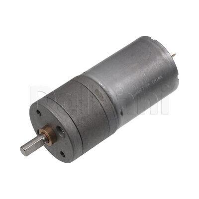 Dc Gear Motor High Torque 25ga 12v 150rpm 370 For Diy Robotics Arduino