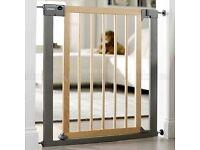 Lindam Wood and Metal Pressure Gate
