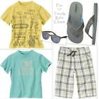Boys Clothes Size 7 Lot Summer