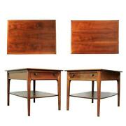 Pair Vintage Nightstands