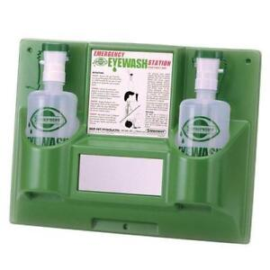 NEW Bel-Art Products F24868-0000 Scienceware Emergency Eye Wash Station with Two 1000