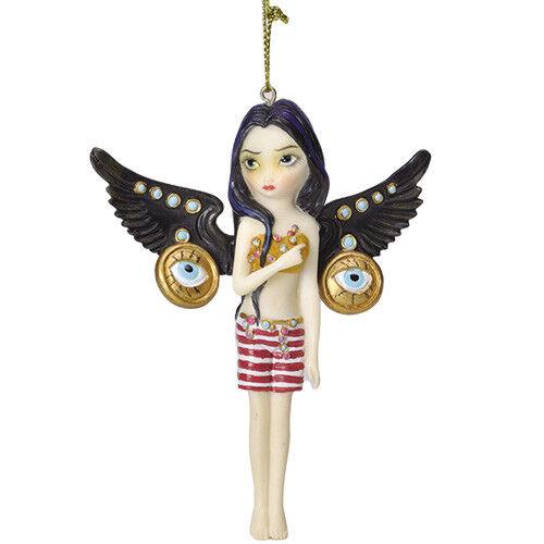 MECHANICAL ANGEL III Fairy Ornament Jasmine Becket-Griffith Strangeling faerie