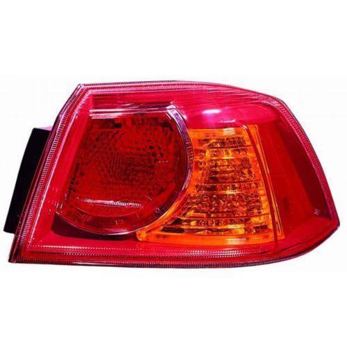 Mitsubishi Lancer 09 Tail Lights Ebay