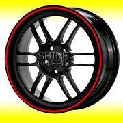 Red Wheel Stripe