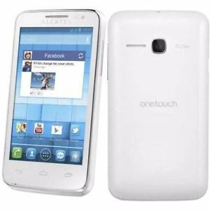 Alcatel One Touch M'Pop 5020A White Android 4.1 SmartPhone Mobile Blackburn South Whitehorse Area Preview