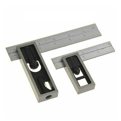 "Igaging precision square set contains both 4"" and 6"" squares 34-4466S"