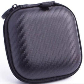 Square Hard Storage Case for Earphones SD Cards etc.