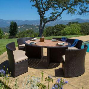 Outdoor Patio Dining Set, Sirio